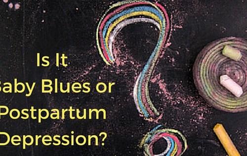Is It the Baby Blues or Postpartum Depression  -postpartumprogress.com