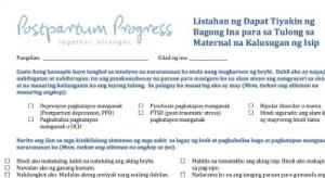 postpartum depression tagalog