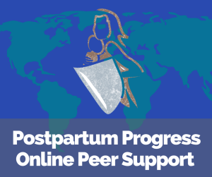 postpartum progress online peer support