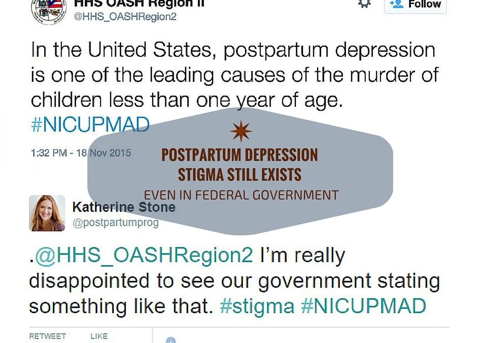 Postpartum Depression Stigma Persists Even In Federal Government
