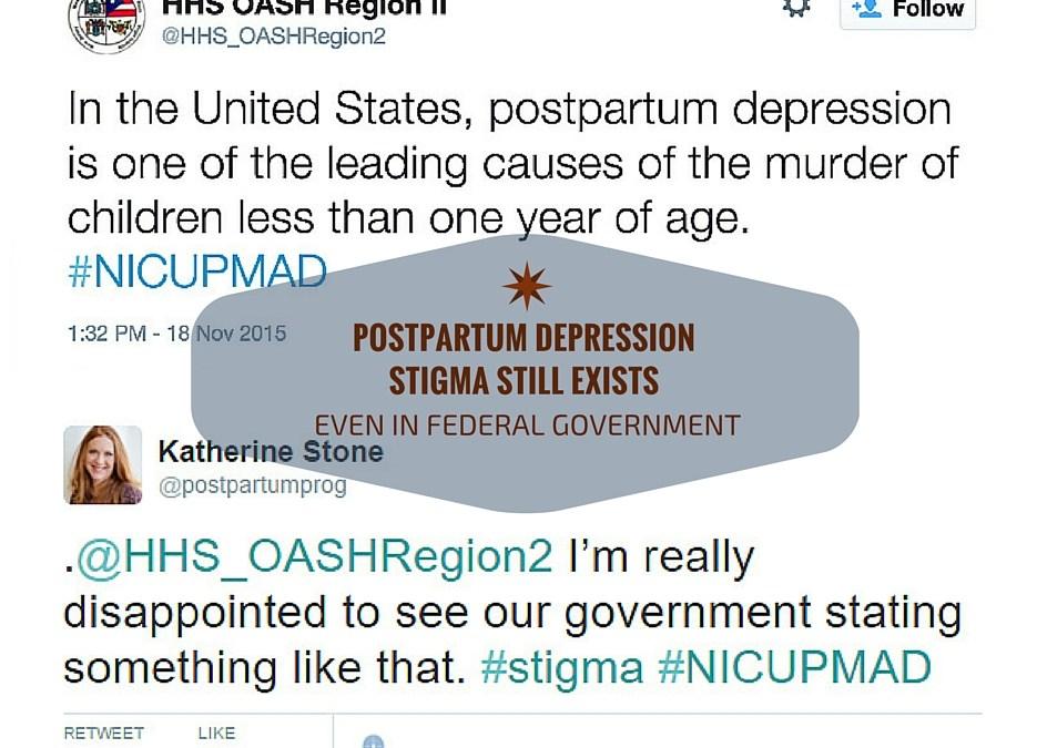Postpartum Depression Stigma Persists Even In Federal Government