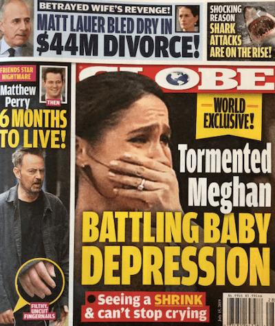 meghan markle postpartum depression story