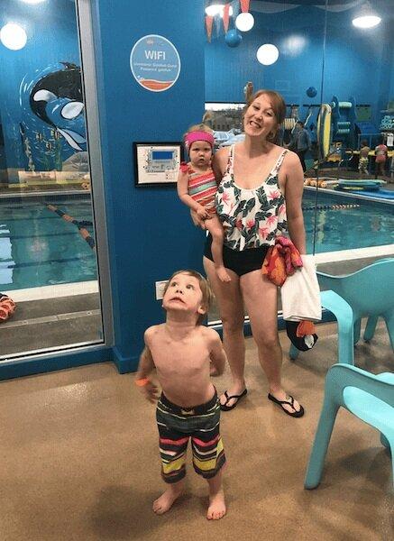 goldfish swim school young kids