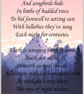 A Poem of Nature
