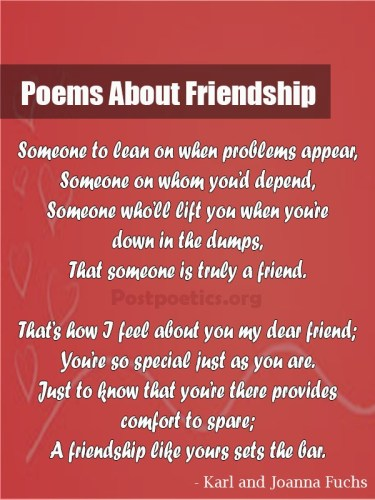 Poetry for girl friend