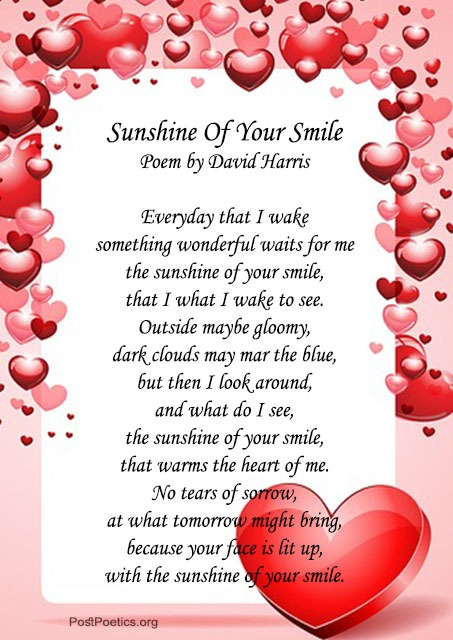 her smile poems