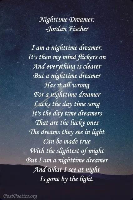 nighttime poems