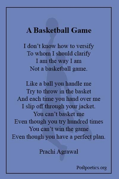 14 line basketball poems