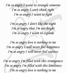 Angry Poems