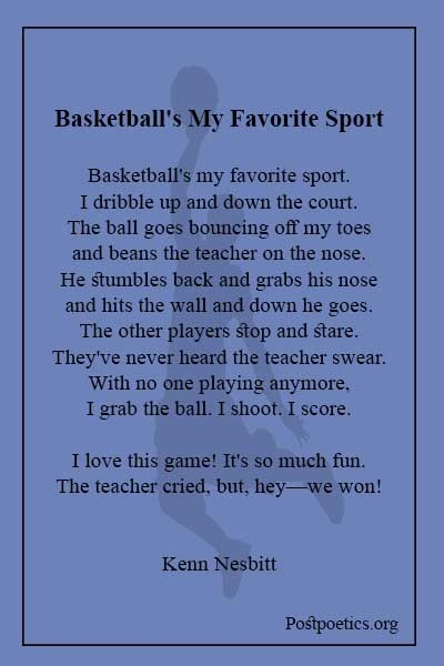 Basketball poems 20 lines