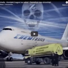 Chemtrails – Kemijski tragovi na nebu! – Zaprašuju nas otrovima!