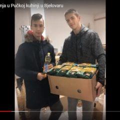 Božićna akcija darivanja u Pučkoj kuhinji u Bjelovaru