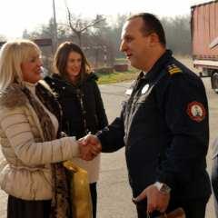 Bojana Hribljan, zamjenica župana, pohvalila je sve dežurne službe!