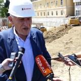 Na gradilištu nove zgrade OB Bjelovar