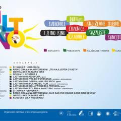 Program Bjelovarskog kulturnog ljeta za sljedeći tjedan