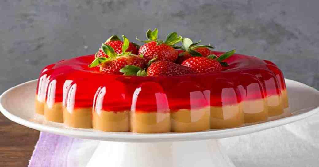 Recetas de postres de gelatina