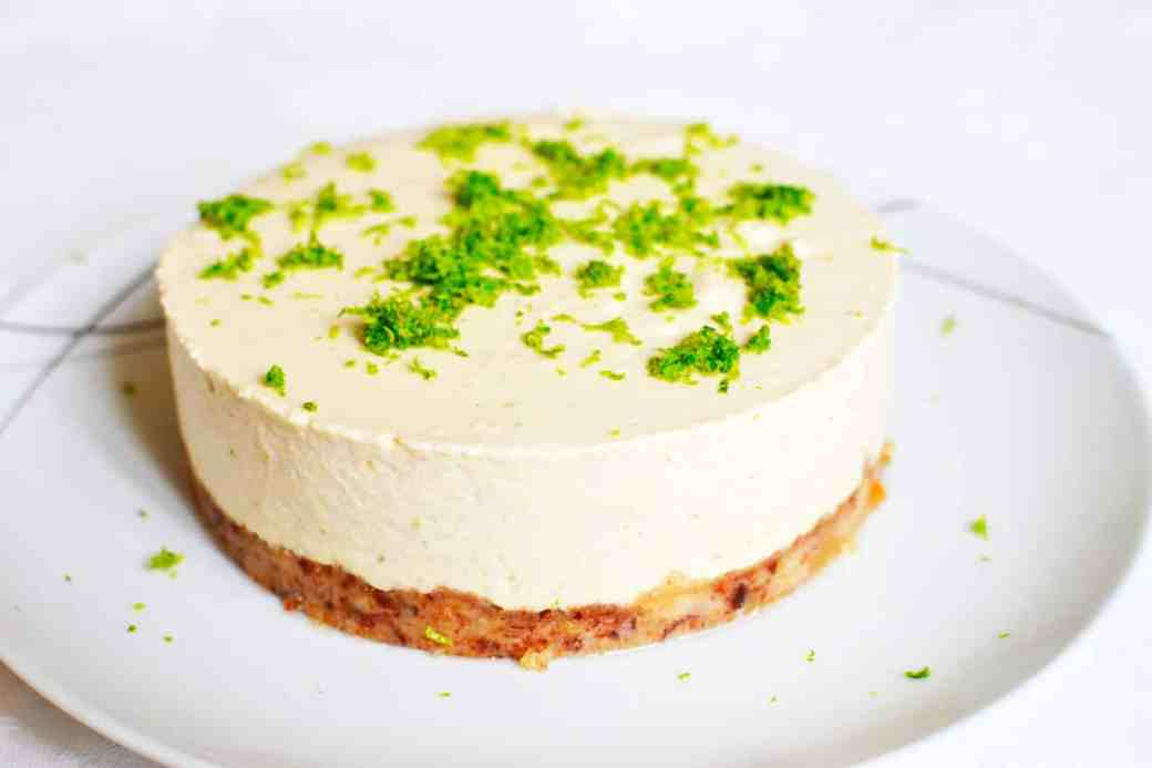 Cheesecake de Lima sin Horno