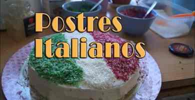 Recetas de Postres Italianos
