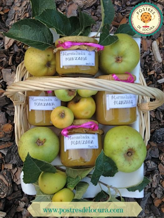 mermelada casera de manzana y canela de manzana