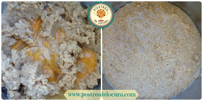 Agregar los huevos a la mezcla
