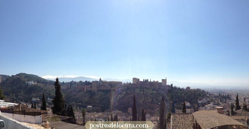 Panoramica La Alhambra