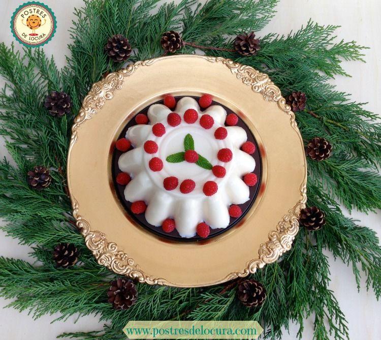 Postres faciles para Navidad: tres leches frio