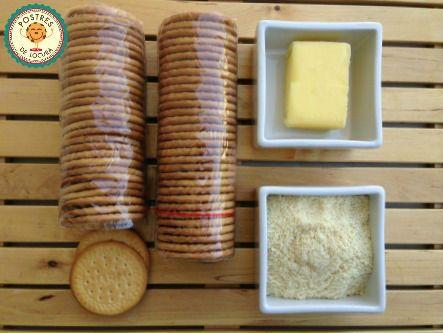 Ingredientes base de galleta para tarta