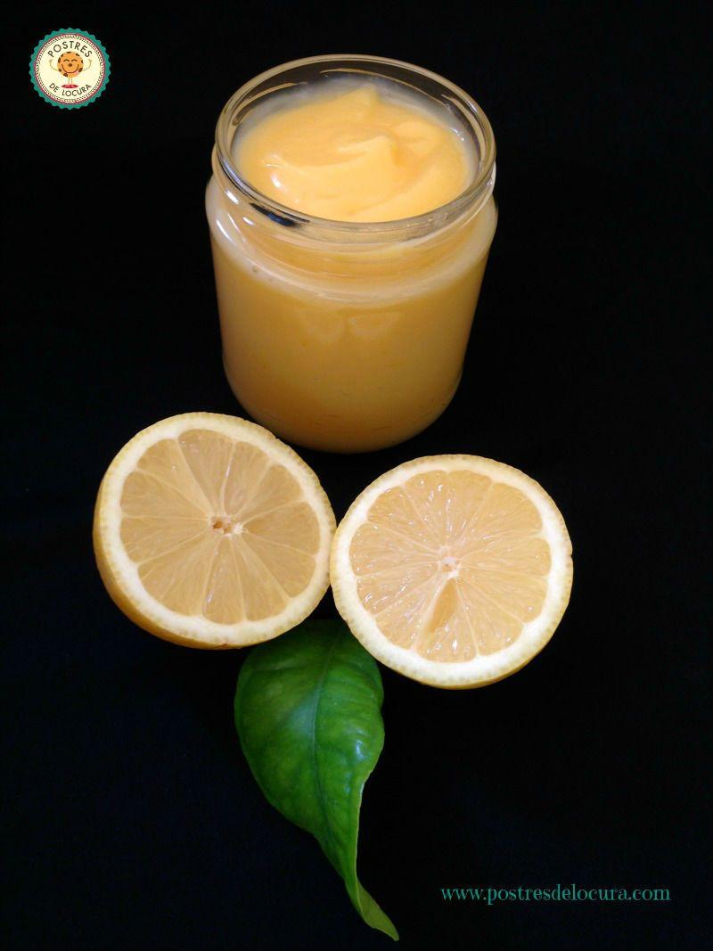 crema de limón casera o lemon curd