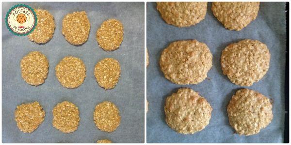 Preparacion galletas de avena y turron 3