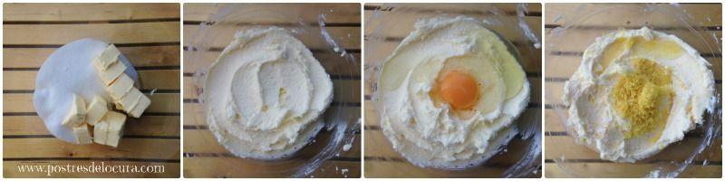 Preparacion galletas faciles de mantequilla y limon