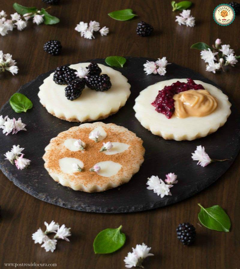 Tartaletas faciles (sin horno)