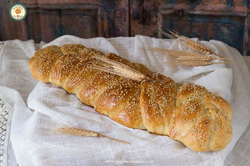 pan casero receta facil sin amasado