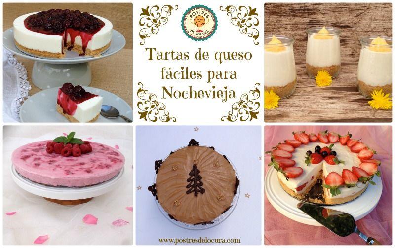 Tartas de queso faciles para nochevieja - Postres faciles para nochevieja ...