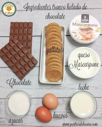 ingredientes-tronco-helado-de-chocolate
