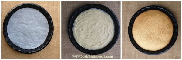 Base de galleta para pizza dulce