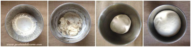 Preparacion pan de leche casero