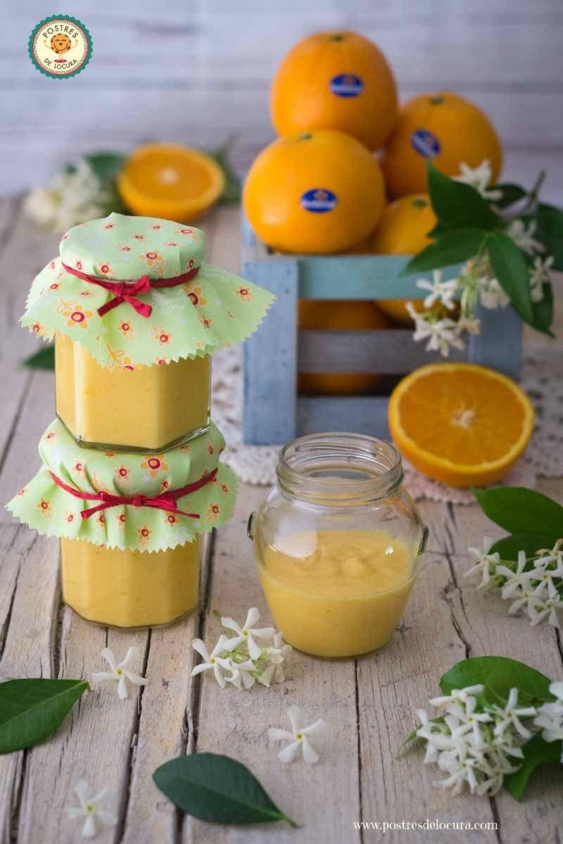 Crema de naranja casera orange curd