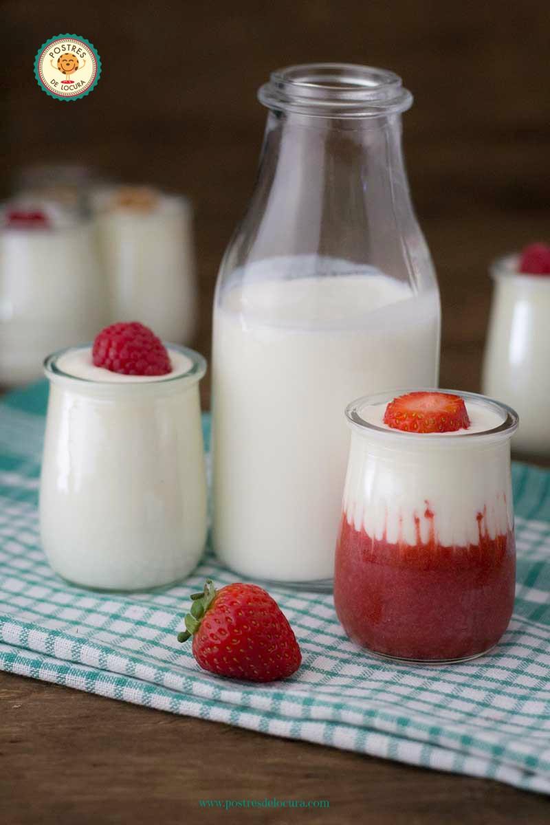 como hacer yogur casero usando la olla expres