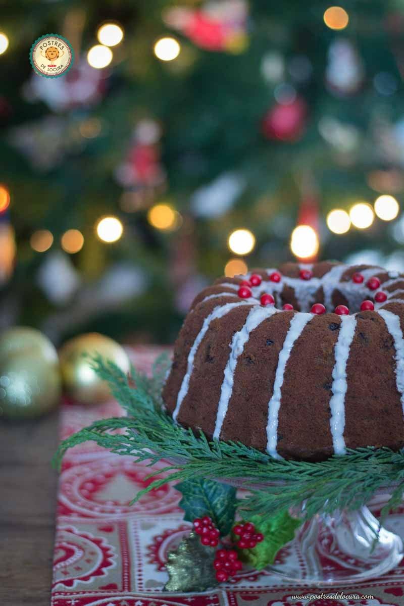 Bizcocho de Navidad - Torta negra colombiana