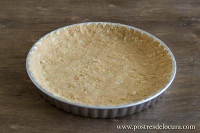 Base de galleta para tarta