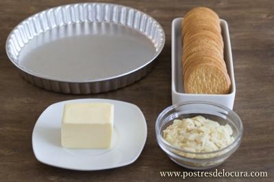 Ingredientes base tarta
