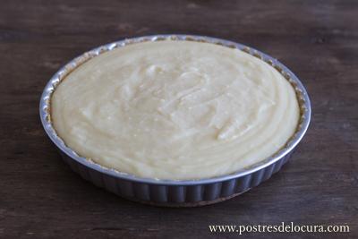 Tarta crema pastelera