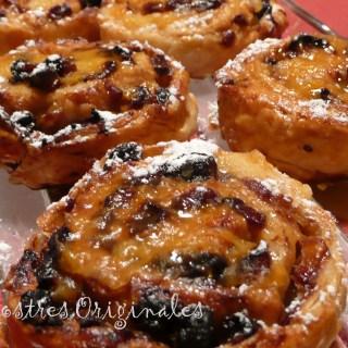 Caracolas de Hojaldre – Relleno dulces