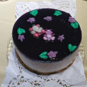 Tarta Mousse de Violeta - Concepcion Domper Franco