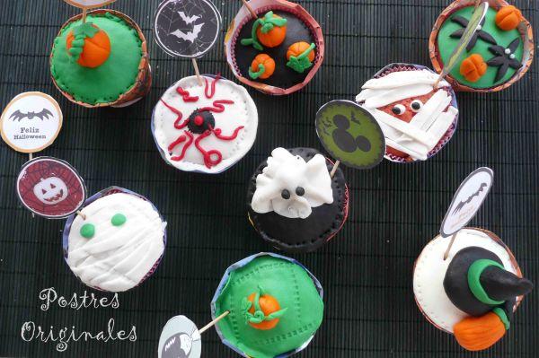 Cupcakes de Chicle para Halloween