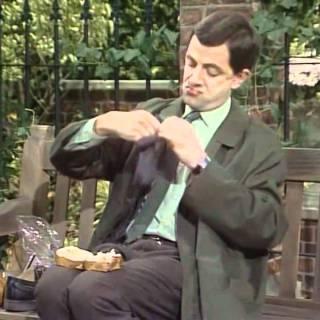 Mr Bean – Sandwich for Lunch