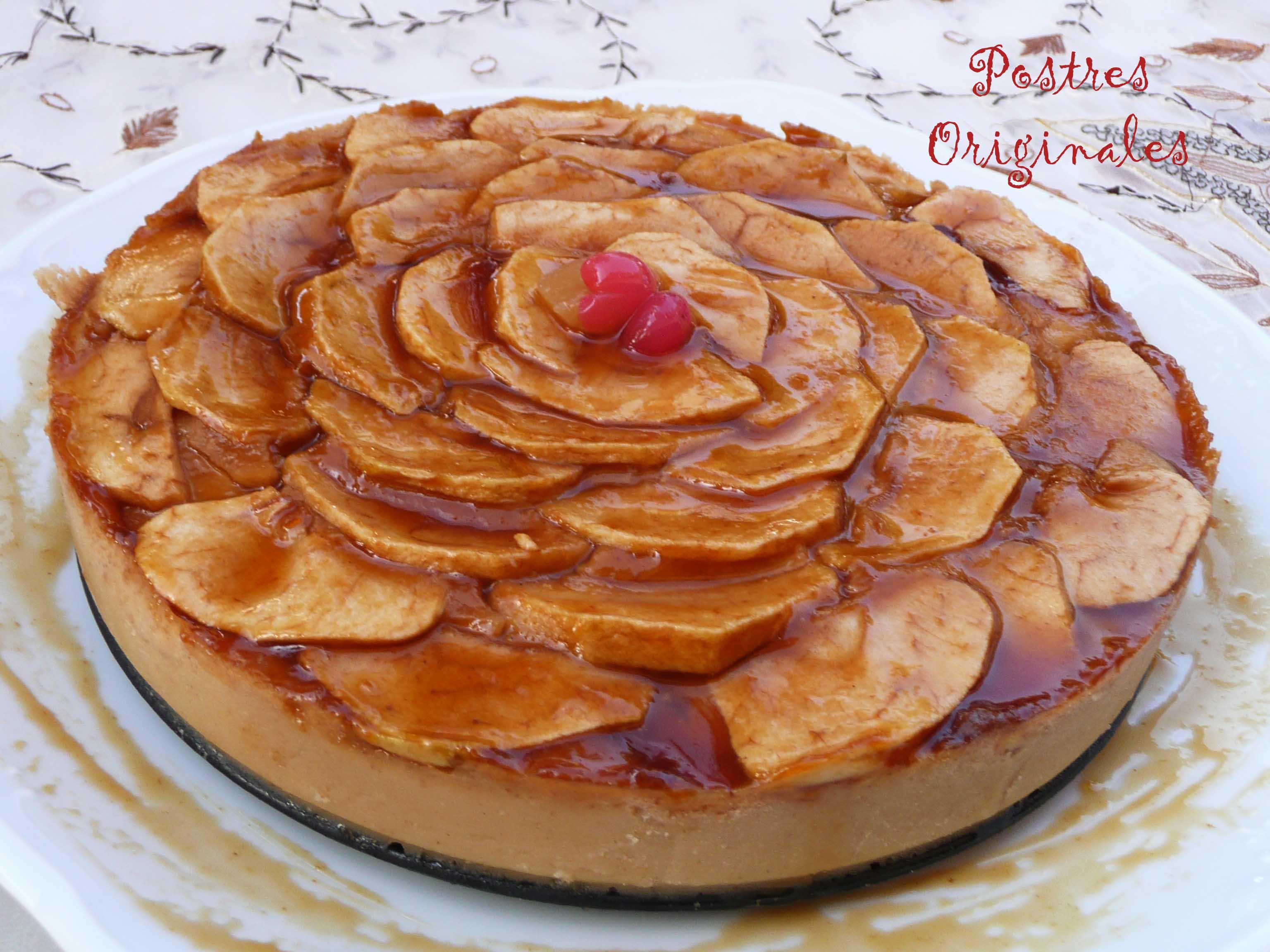 Tarta De Manzana De La Abuela Postres Originales - Tartas-de-cumpleaos-sencillas-y-originales