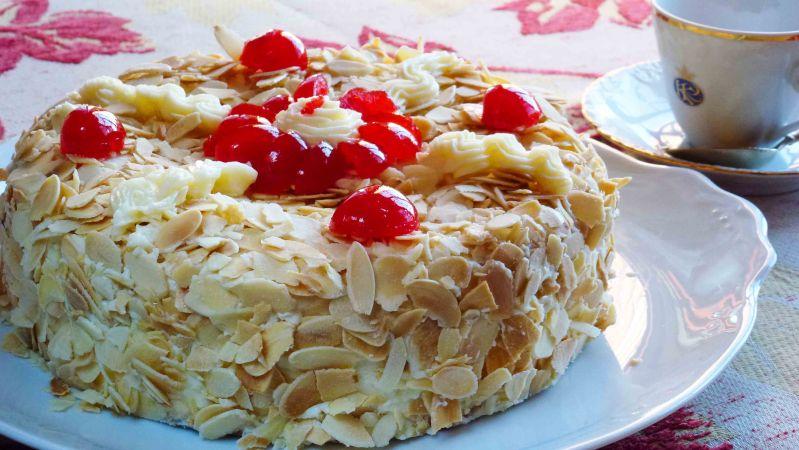Crema de Mantequilla Tarta-Sara