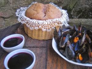 Pan de Vino Tinto - El taller del mejillón