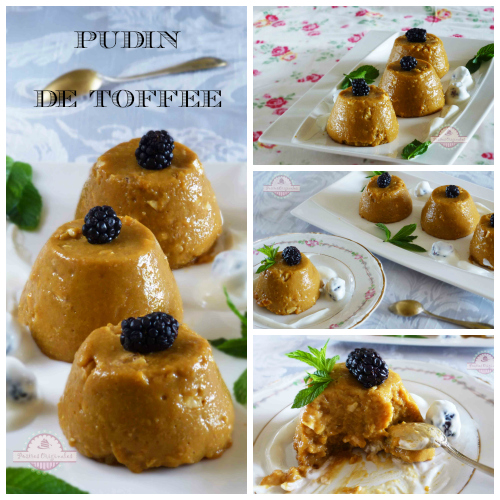 Pudin de Toffee Collage